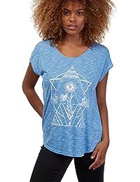 Volcom Got Your Back Top Bleu T-shirt