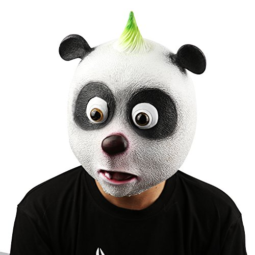 Halloween Maske latex, XIAO MO GU Neuheit Halloween-Kostüm Party Tiermaske Kostüm (Realistische Halloween Kostüme)