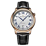 Dreyfuss Mens Analogue Classic Automatic Watch with Leather Strap DGS00151/01