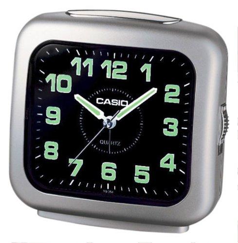 Casio - TQ-359-8EF - Alarm Clock - Quarzuhrwerk - Analogue - Alarm - Bracelet Silikon gelb