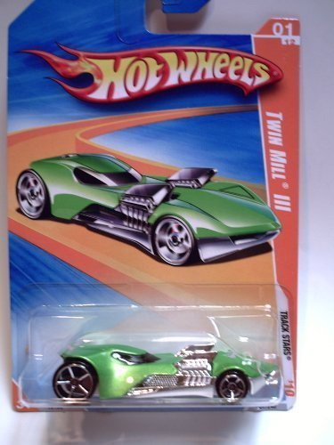 Hot Wheels 2010 Track Stars 057/240 Twin Mill III Green 01/12