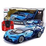 Ycco Bugatti RC tout-terrain géant, échelle 1/12 Bugatti Veyron Grand 39,5 cm Sport Vitesse Radio Télécommandé Modèle Jouet Voiture Garçon Filles Anniversaire Jouet for Enfants cadeau, bleu
