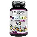 Multivitamin A-Z 500 Tabletten von Fat2Fit Nutrition 100% Tagesdosis