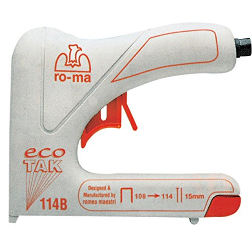 RO-MA ECOTAK 114B - ELECTRIC STAPLERS (CORRIENTE ALTERNA  50/60 HZ  COLOR BLANCO)