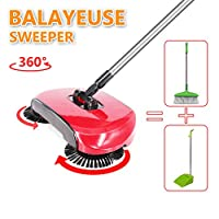 Lazy automatic Hand Push sweeper| Sweeping machine without electricity |Mechanical sweeper 114x35cm