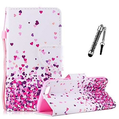 Custodia-per-Huawei-P10-Cover-Case-per-Huawei-P10-ZCRO-Cover-Pelle-per-Huawei-P10-ZCRO-Premium-PU-Leather-Flip-Magnetic-Closure-With-Card-Holder-Hand-Strap-Inner-Silicone-Flexible-TPU-Back-Skin-Shell-