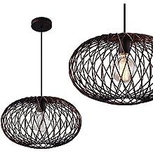 [lux.pro]® Lampe à suspension métal bronze [abat jour:40cm]