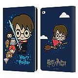 Head Case Designs Ufficiale Harry Potter Personaggi Deathly Hallows I Cover in Pelle a Portafoglio Compatibile con iPad Air 2 (2014)