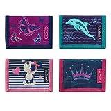 herlitz 50021376 - Portafoglio per bambini Boys Mix, Girls Mix 2 (Multicolore) - 50021369