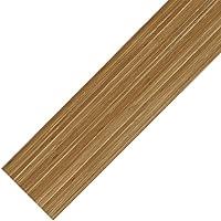 [neu.haus] Suelo de vinilo PVC - 0.975 m2 - autoadhesivo - bambú mate - planchas / tablas