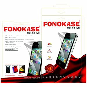 Fonokase Tampered Clear Finish Screen For Samsung S 5