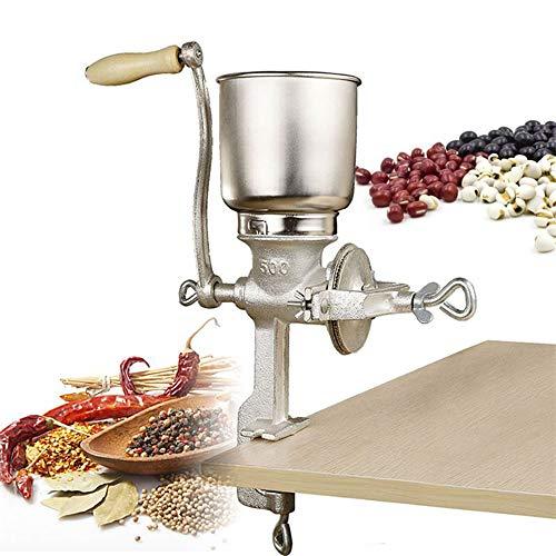 BALLSHOP Handgetreidemühle 5 L Handkaffeemühle Kornmühle Handmühle Getreidemühle...