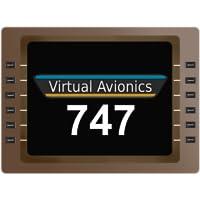 Virtual CDU 747