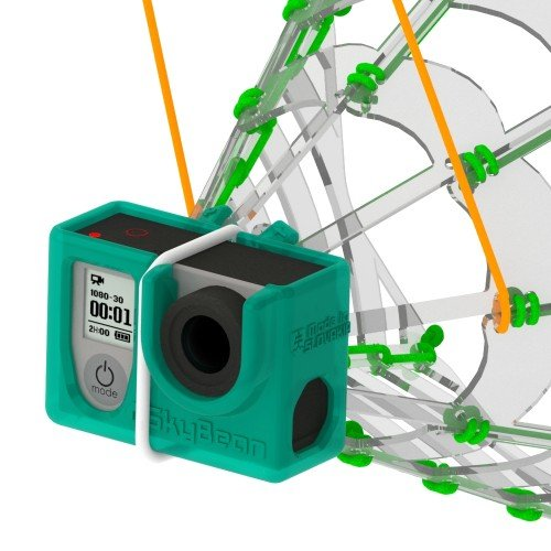 SkyBean ChaseCam - die Aufnahme von großartigen Videos und Fotos aus der Position hinter dem Gleitschirm / Paramotor Pilot (für GoPro Hero 3/4)