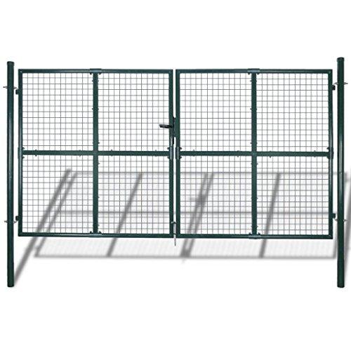 SENLUOWX Metall Zaun zum Schutz Indoor Outdoor - Edelstahl Tor-verriegelung