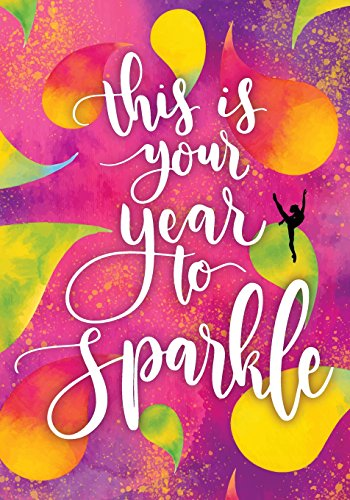 This Is Your Year To Sparkle: Gymnastics Inspirational Notebook, Gymnastics Journal For Girls, Daily School Notebook,Achievement Journals 100 Pages: Volume 3 (Kids Writing Journal) por Joy M. Port