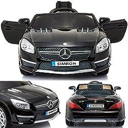 simron Mercedes-Benz SL-63 AMG Cabriolet Ride-On 12V Elektro Kinderauto Kinderfahrzeug Kinder Elektroauto