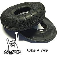 Rocker The Mini BMX Ersatzt Street V2 Mantel Tire Reifen + Ersatz Schlauch mit Autoventil