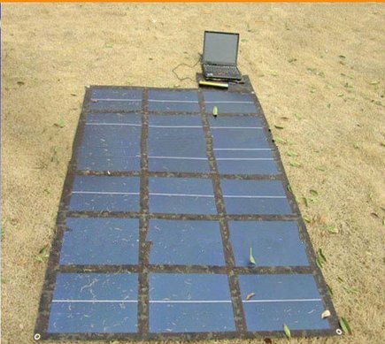 108W GOWE 18 V Military Version, Schnalle und flexibles Design gesamten Solarpanel Ladegerät für Handy, Notebook Handy und MP4-Player, MP3