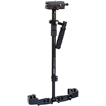 Flycam Redking Video Camera Handheld Stabilizer with Carry Bag for DSLR (Black)