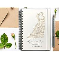 Hochzeitsplaner PERSONALISIERT Ornament Brautpaar