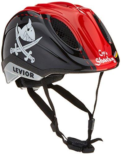 Levior Kinder Fahrradhelm Primo Lizenz, Capt´N Sharky, 46-51 cm, 45002800