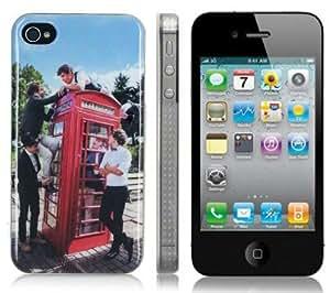 One Direction Design Coque de protection Hardcase pour Apple iPhone 4 4S (Inclure Film Protection ecran)