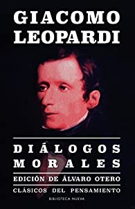 DIÁLOGOS MORALES par Giacomo Leopardi