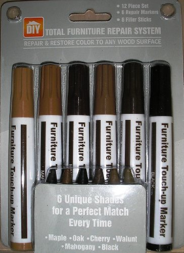 12-piece-total-furniture-repair-system-6-repair-markers-and-6-filler-sticks
