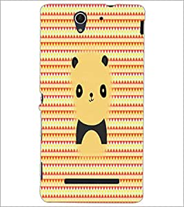 PrintDhaba Cartoon D-5627 Back Case Cover for SONY XPERIA C3 (Multi-Coloured)