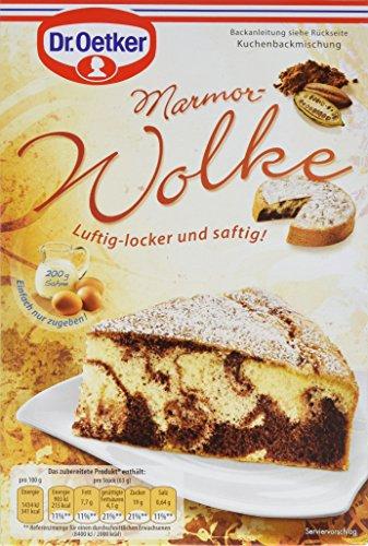 Dr. Oetker Marmor-Wolke, 4er Pack (4 x 455 g) (Mischung 15 G-packung)