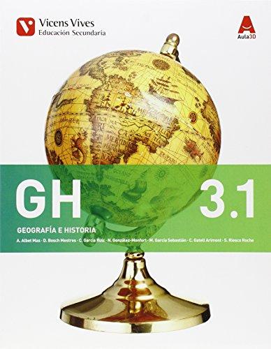 Geografia e Historia GH 3 (3.1-3.2) ( ESO) Aula 3D (Ceuta y Melilla) - 9788468230436 por Abel Albet Mas