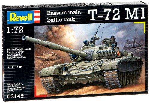 Revell Modellino 03149 - T-72 M1, scala 1:72 usato  Spedito ovunque in Italia