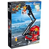 Price comparsion for BanBao Building Blocks Bricks Construction Forklifter Vehicle - Best Selling Toys & Games Creative Boy Child Children Boys Kids - Great Idea for Fun Easter, Birthday Xmas, Christmas, Stocking Filler Present Gift or Reward or Pocket Money Treat - One Suppl