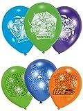 de 12 Set Ballons Gonflables pour fête d'ANNIVERSAIRE CARS SPIDERMAN LA REINE DES NEIGES patte Patrol - Tortues