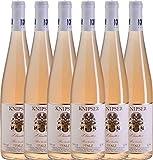 6er Paket - Clarette Rosé 2017 - Knipser   trockener Roséwein   deutscher Sommerwein aus der Pfalz   6 x 0,75 Liter