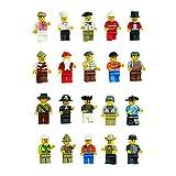 Mintoys Mini Figures Character Mini Men Cowboy,Pirate,Wizard - Best Reviews Guide