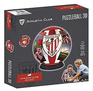 Athletic Club Bilbao- Puzzleball Athletic Club (Tamaño Balón) 8,4 (63294),, Ninguna (Eleven Force 1)