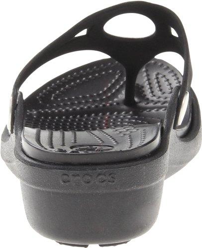 Crocs, Pantofole donna Black/black