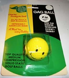Smiley Face Bâillon boule pour le golfeur qui a tout