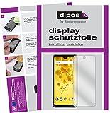 Wiko View 2 Schutzfolie - 2x dipos Displayschutzfolie Folie klar