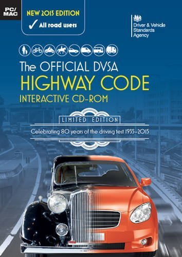 The official highway code interactive CD-ROM by Driver and Vehicle Standards Agency (2015-06-01)