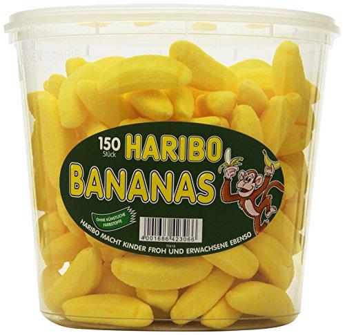 HARIBO Bananas, 3er Pack (3 x 1.05 kg Dose)