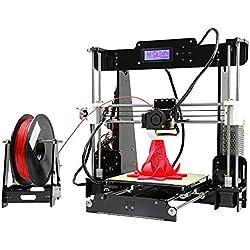 Anet A8 Impresora 3D Apoye la impresión bicolor Tamaño de Impresión Grande 220 * 220 * 240mm