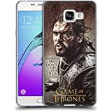 Officiel HBO Game Of Thrones Jon Snow Citations De Personnage Étui Coque en Gel molle pour Samsung Galaxy A5 (2016)