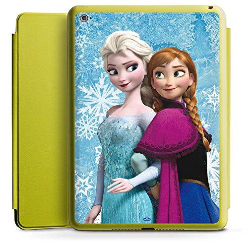 Apple iPad Air 2 Smart Case Hülle Tasche mit Ständer Smart Cover Disney Frozen Geschenke (Tasche Plastik Disney Geschenk Frozen)