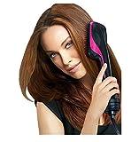 Lounge-royalfirst ein nicht von trocknet–Haar & Styler, 2–in–1Ion Negativ das Warm und Kälte Warmluftbürste Comb straightning das baraqué, Rosa und Schwarz