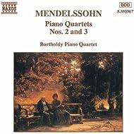 Mendelssohn: Piano Quartets Nos. 2 And 3