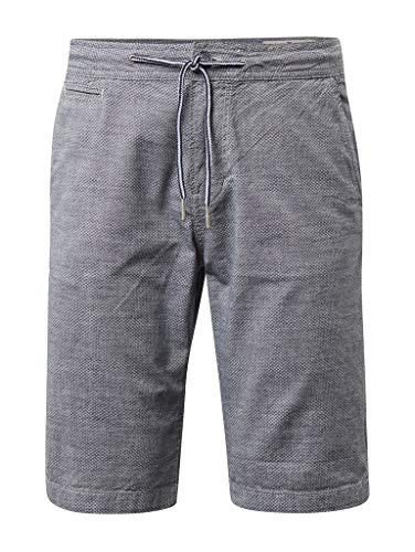 TOM TAILOR Denim für Männer Hosen & Chino Slim Chino Shorts Blue small Circle Print, M
