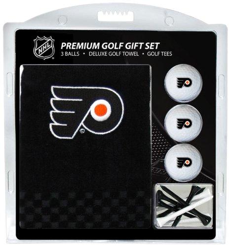 Team Golf NHL Herren Golfhandtuch Bestickt (3 Golfbälle/12 T-Shirt), Herren Unisex Damen, 15020, Mehrfarbig, One Size